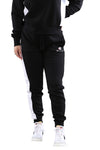 Champion Womens Panel Trackpant Black/White