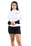 Champion EU Neo Quarter Zip Pullover White
