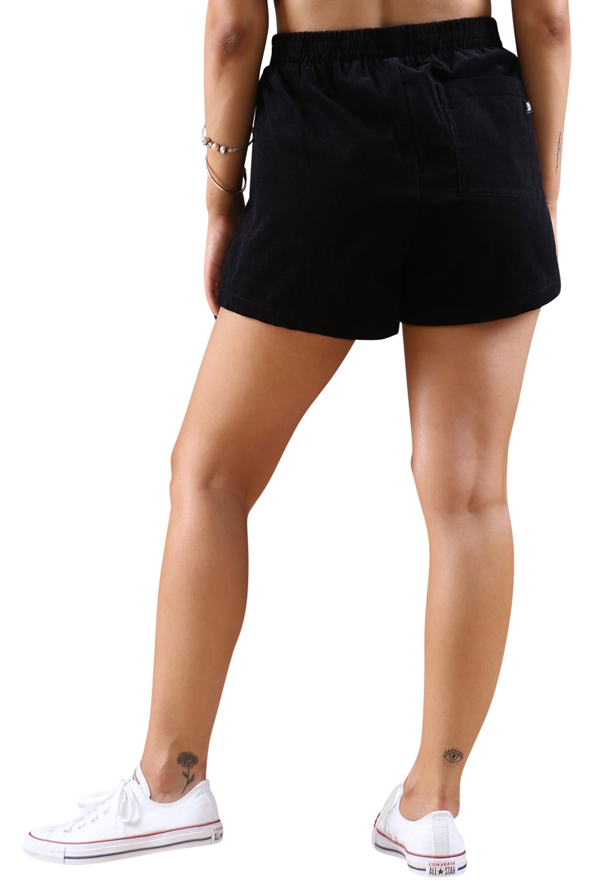 Stussy Womens Stock Cord Short Black