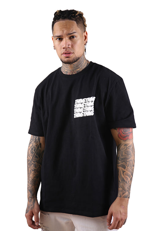 Thing Thing Stacker S/S Tee Black