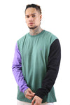 Thing Thing L/S Tee Moss/Purple/Black