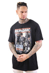 Urban Classics Run DMC King of Rock Tee Black