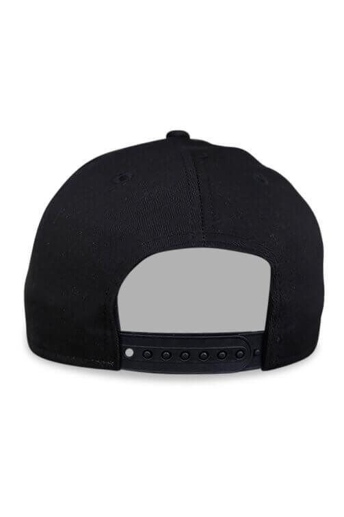 New Era 940 A Frame Brooklyn Nets Black Snapback Back