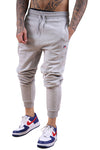Russell Athletic DJ Mens Pro Cotton Rib Pant Grey Marle