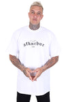 AFKNCHUR Pro Club Lifestyle S/S Tall Tee White/Black Front