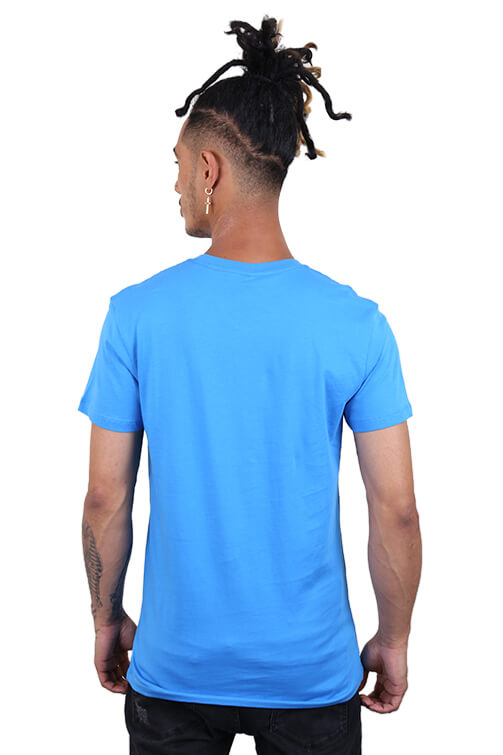 As Colour Paper Tee Arctic Blue