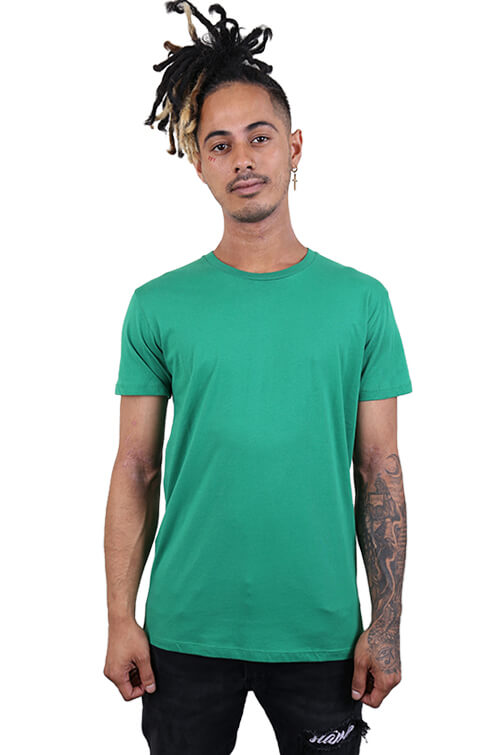 As Colour Paper Tee Kelly Green