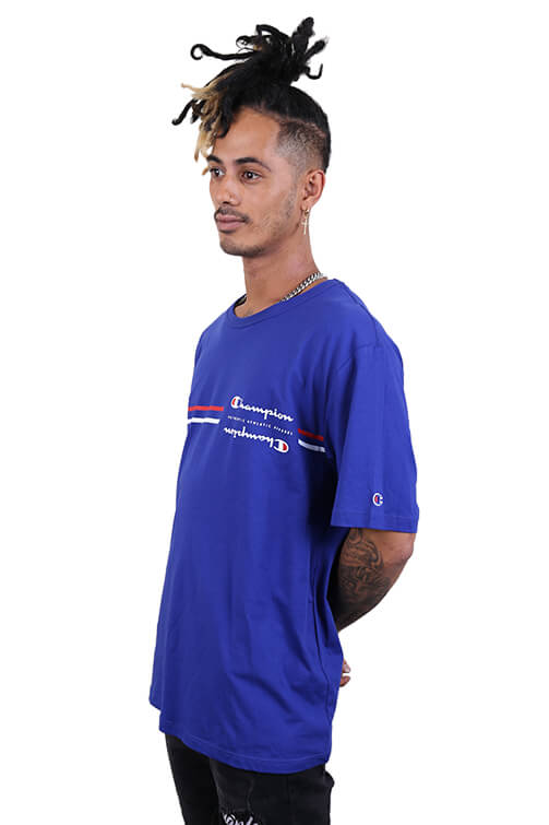 Champion Sporty S/S Tee Blue