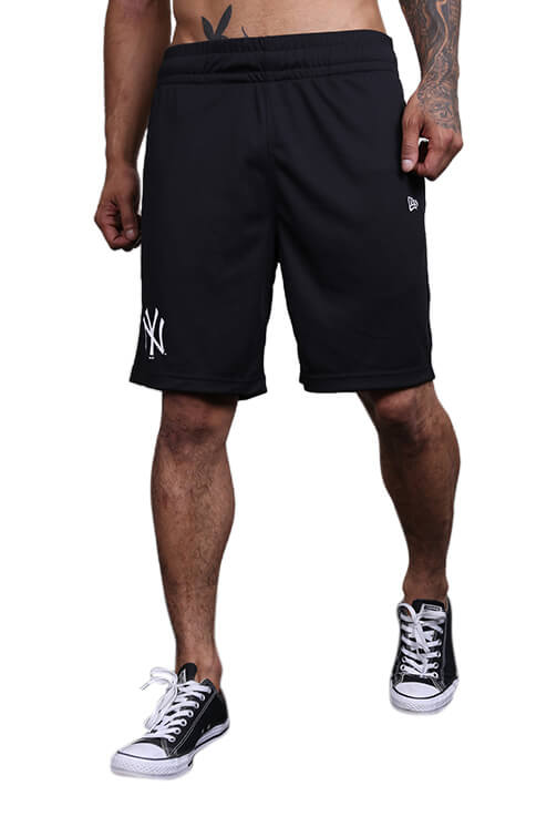 New Era NY Yankees Mesh Short Black Front