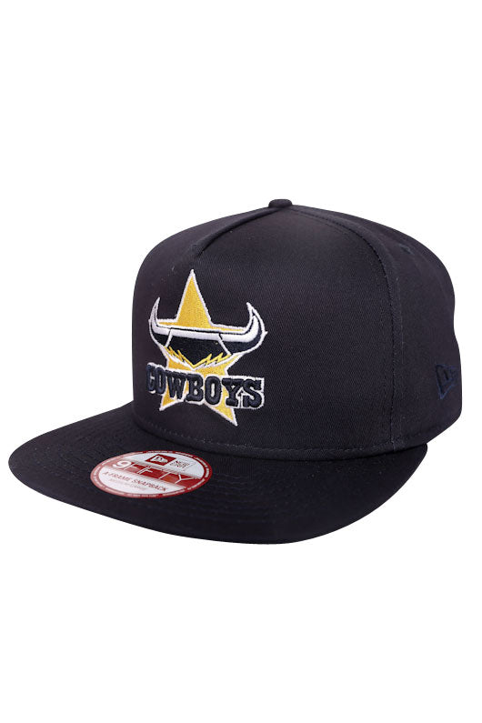New Era A-Frame NQ Cowboys Navy 950 Snapback Angle