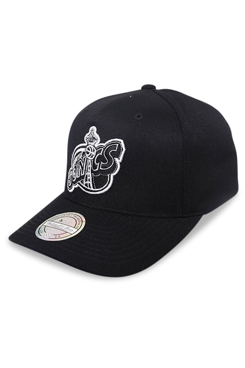 M&N 110 Seattle Supersonics Black/White Snapback