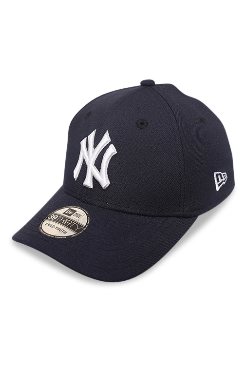 New Era Youth 3930 NY Navy Stretch Fit