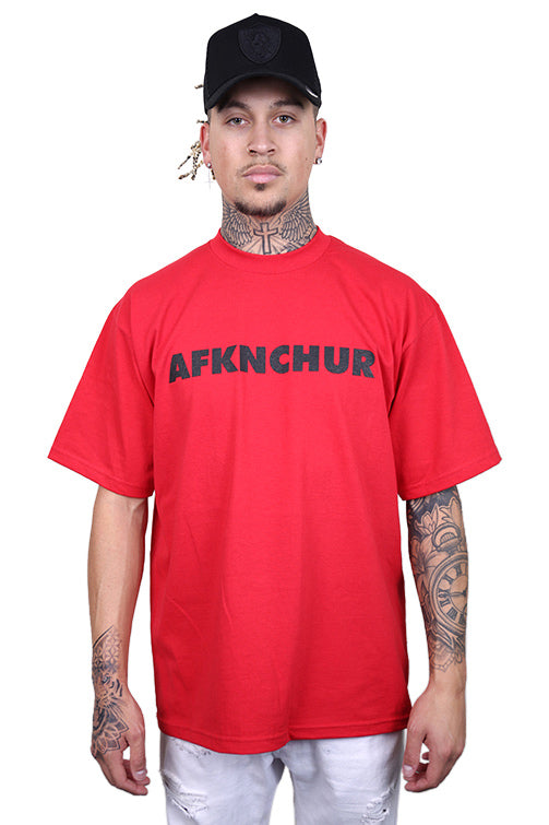 AFKNCHUR Pro Club Nineties Tee Red