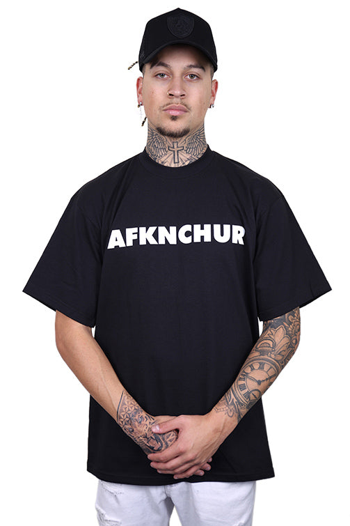 AFKNCHUR Pro Club Nineties Tee Black