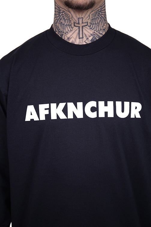 AFKNCHUR Pro Club Nineties L/S Tee Black