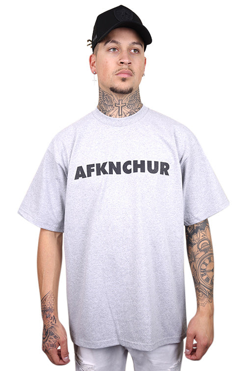 AFKNCHUR Pro Club Nineties Tee Grey