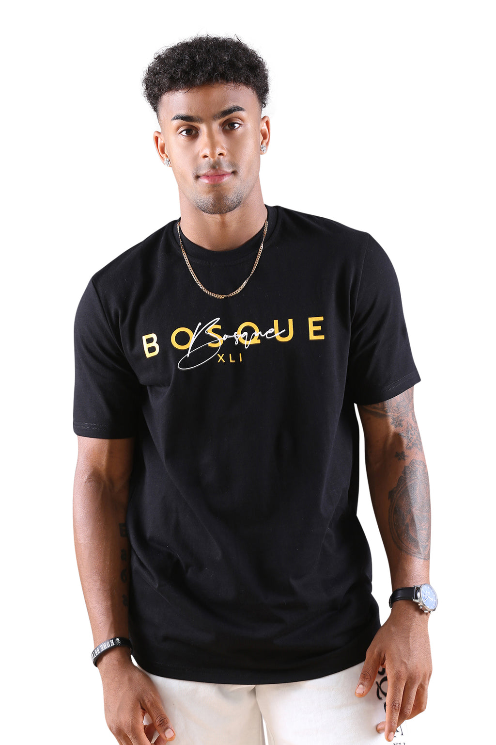 Bosque Suave Tee Black/Gold