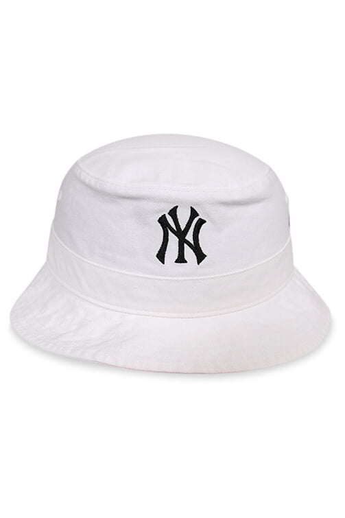 47 Brand NY Yankees White Bucket Front
