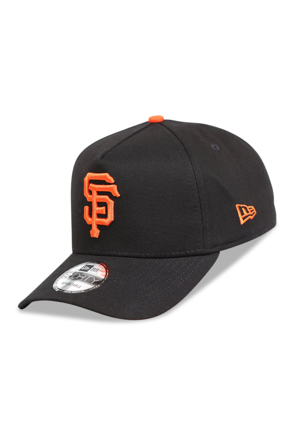 New Era 940 A Frame SF Giants OTC Black Snapback Angle