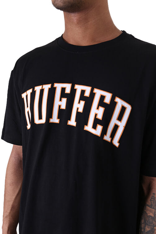 Huffer Bleachers Sup Tee Black