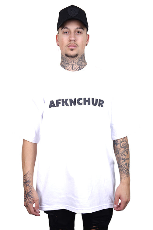 AFKNCHUR Pro Club Nineties Tee White