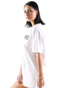 Bosque Grmn Tee White/Black