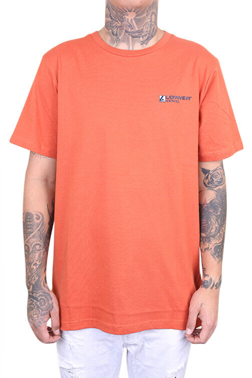 Lower The Valley QRS Tee Orange Front