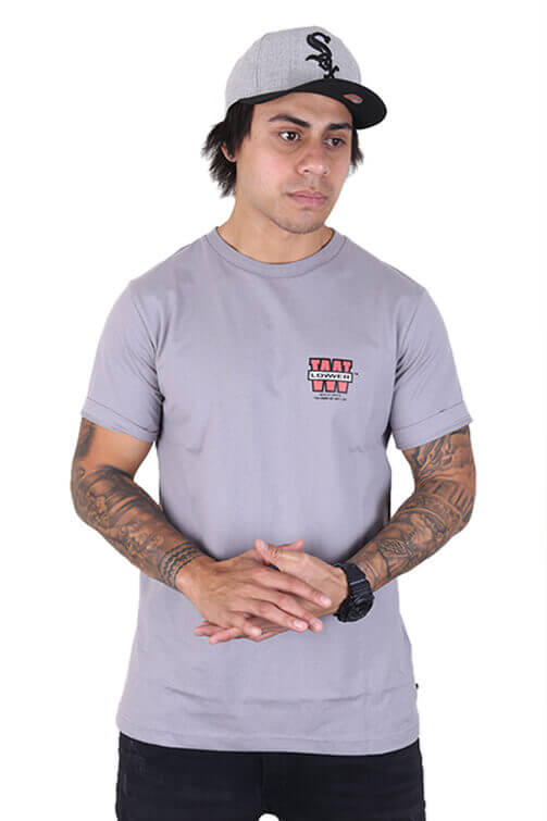 Lower Triple Stack QRS Tee Grey