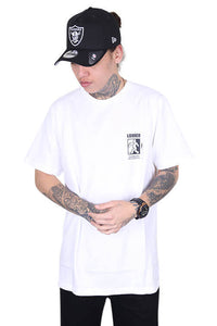 Lower Steppa QRS Tee White Front