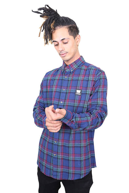 Lower Lotown Raf Shirt Blue Front