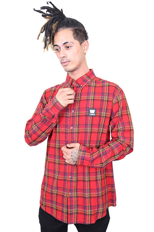 Lower Lotown Raf Shirt Red Front