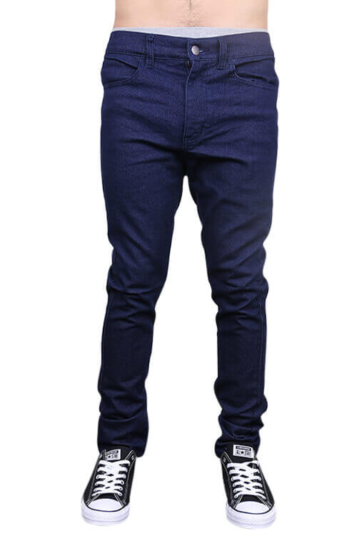 Lower Leaner Jeans Indigo Front