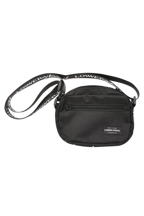 Lower Cash Bag Black Front