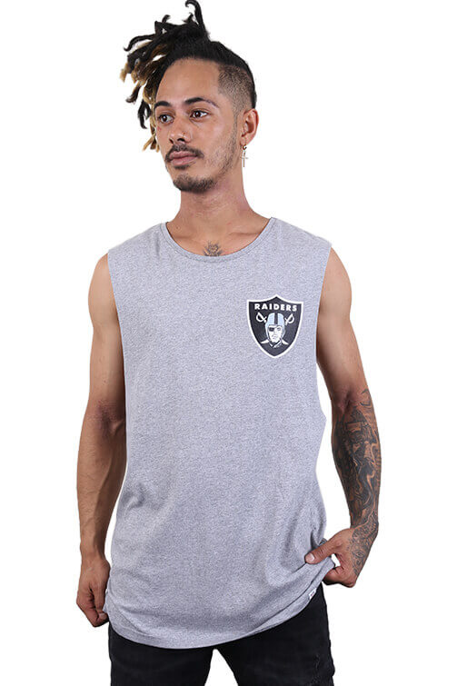 Majestic Raiders Yisser Muscle Grey Marle Front