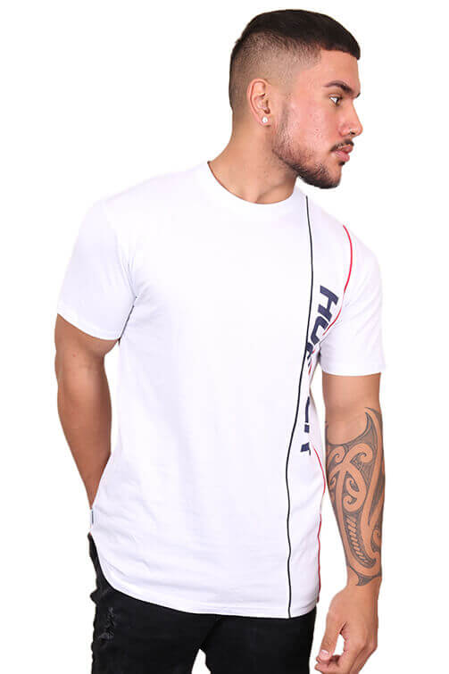 Huffer Riviera Sup Tee White Front