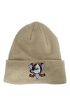 Majestic Ducks NHL Fisherman Pale Khaki Beanie Front
