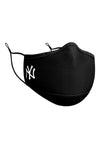New Era NY Yankees Face Mask Black