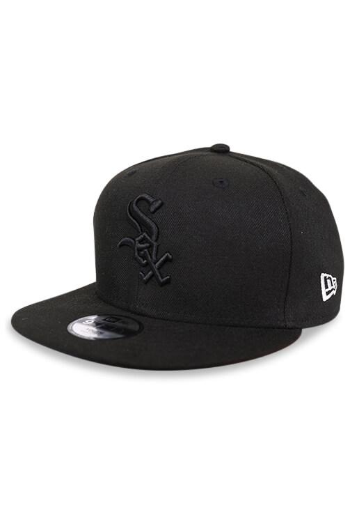 New Era Youth 950 White Sox Tonal Snapback Angle