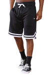 New Era Mesh Tipping Short Black Front