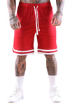 New Era Mesh Tipping Short Scarlet Front