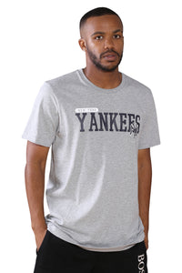New Era NY League Overlay T-Shirt Navy Front