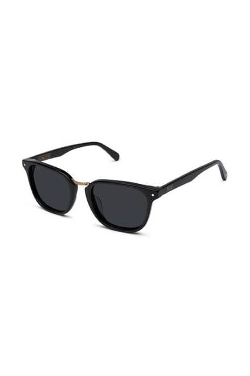 9Five Sunglasses - Olson Black Angle