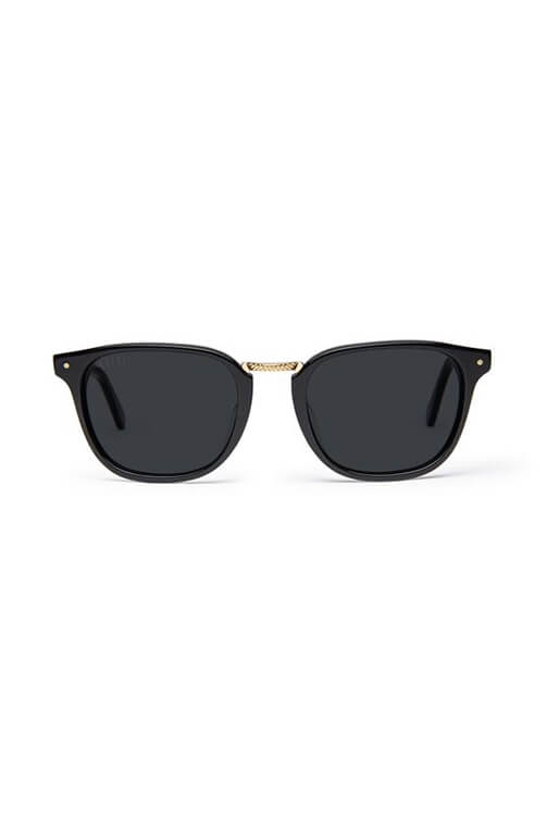 9Five Sunglasses - Olson Black Front