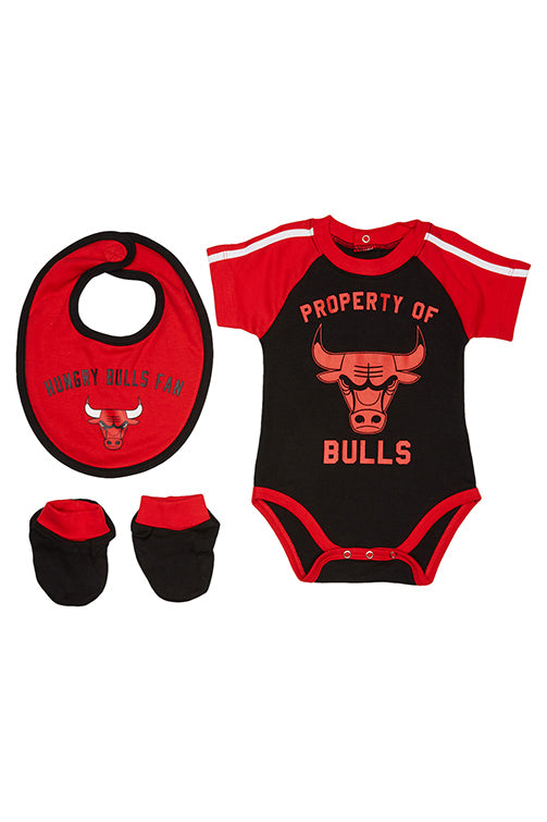 Outerstuff Infant Bulls Crib Pack Red Front