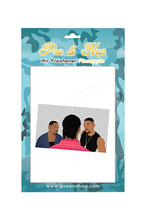 Pro & Hop Bad Boys Air Freshener Front