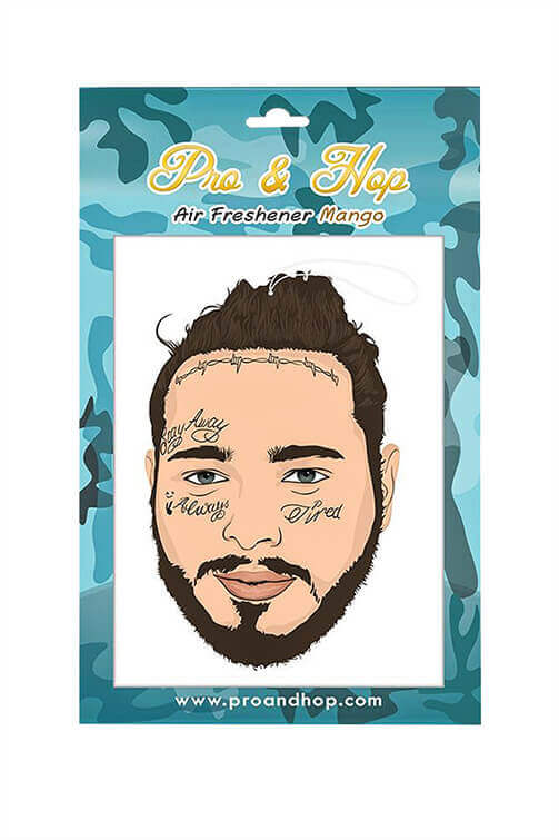 Pro & Hop Post Malone Bun Air Freshener