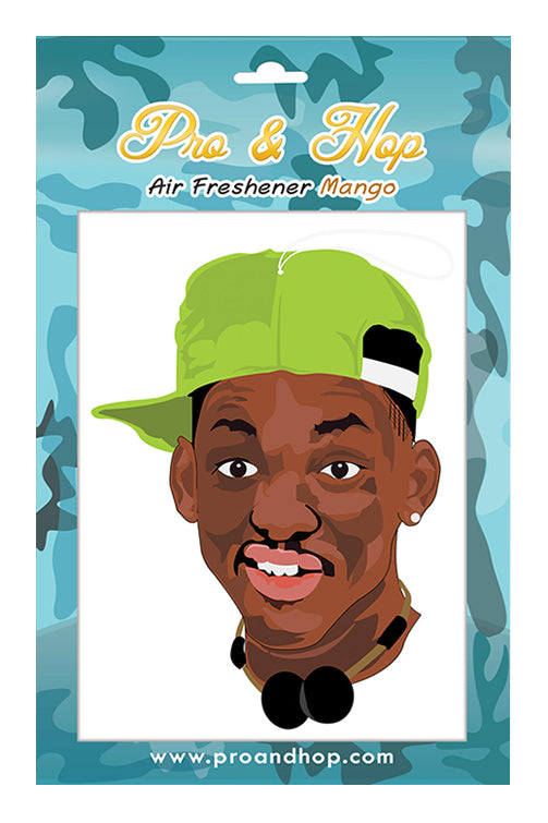 Pro & Hop Fresh Prince Air Freshener Front