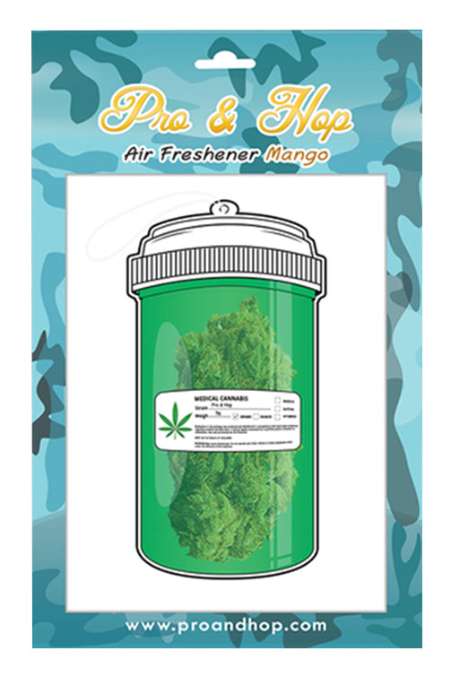 Pro & Hop Medical Container Air Freshener Front