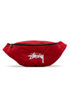 Stussy Stock Waist Bag Chilli Pepper Front