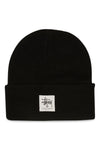 Stussy Workgear Tall Beanie Black Front